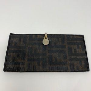 Fendi Checkbook Wallet!